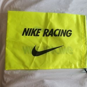 Nike Racing Neon Drawstring Shoe Bag